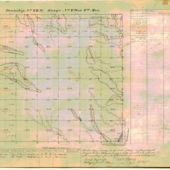 [Public Land Survey System map: Wisconsin Township 22 North, Range 04 West]