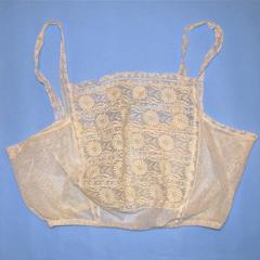 White corset covering