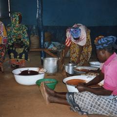Women Making shea butter