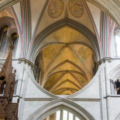 Salisbury Cathedral northeast transept