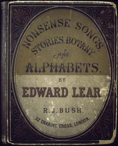Collection of Edward Lear's books