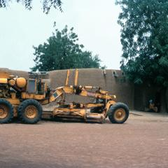 Road Construction Equipment Parked in Mirria
