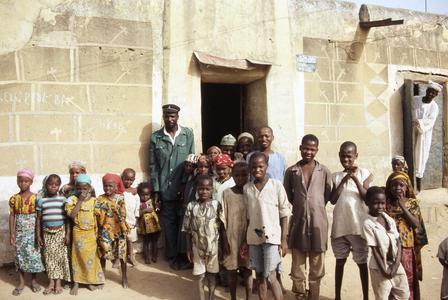 Group of children in Zaria