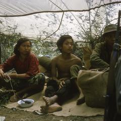 Ethnic Khmu' family