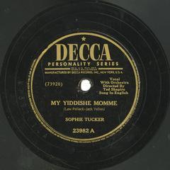 My Yiddishe momme