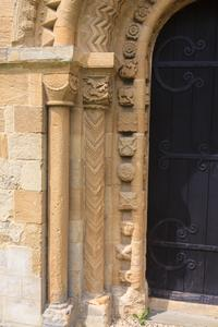 Iffley St Mary Church, south door