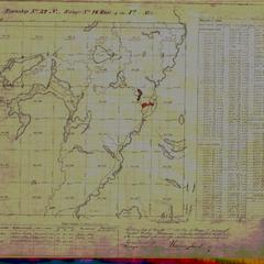 [Public Land Survey System map: Wisconsin Township 32 North, Range 16 East]