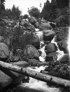 Waterfall in Estes Park
