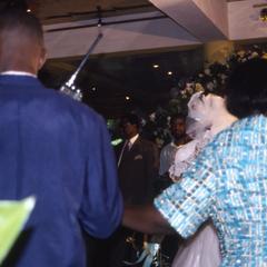 Bride at Apara wedding reception