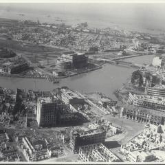 View of burnt-out Manila, 1945