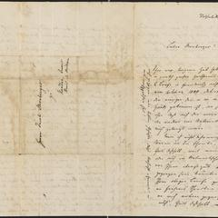 [Letter from C. Leiste to Jakob Sternberger, September 29, 1851]