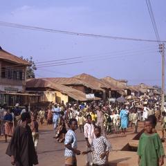 Street scene during Iwude