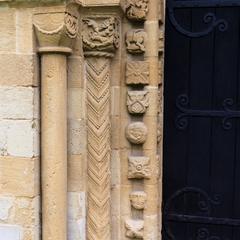Iffley St Mary Church, south door