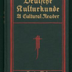 Deutsche kulturkunde : a cultural reader