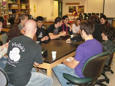 College Students, Apples to Apples, Janesville, 2008