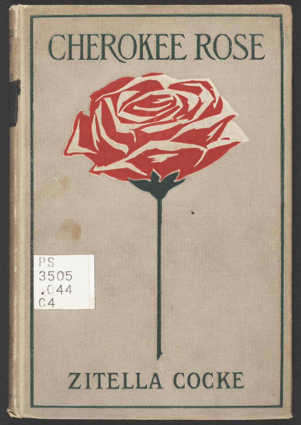 Cherokee Rose and other southern poems (1 of 3)