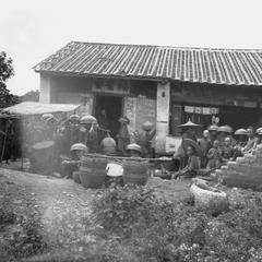 A chapel at Fow Chang, Fuyin tang (Gospel Hall) 福音堂.