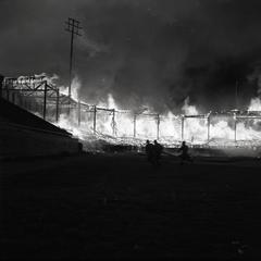 Superior Municipal Stadium fire