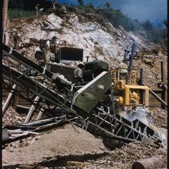 United States Operations Mission (USOM) rock crusher