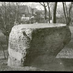 Camp Harvey boulder - Civil War