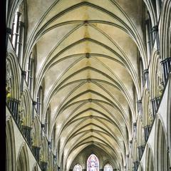 Salisbury Cathedral nave vaulting