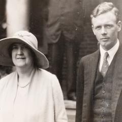 Mary Frank and Charles Lindbergh