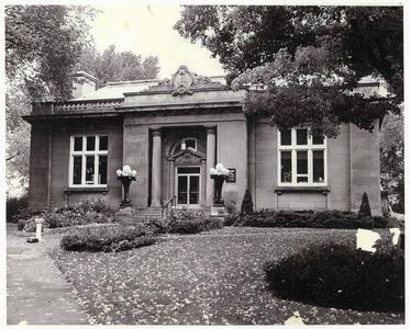Wausau Public Library Carnegie Building circa 1950s