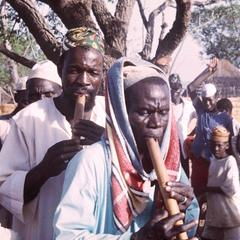 Flute Players in Funeral Ceremony