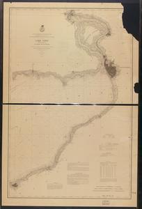 Lake Erie coast chart no. 1. Buffalo to Dunkirk