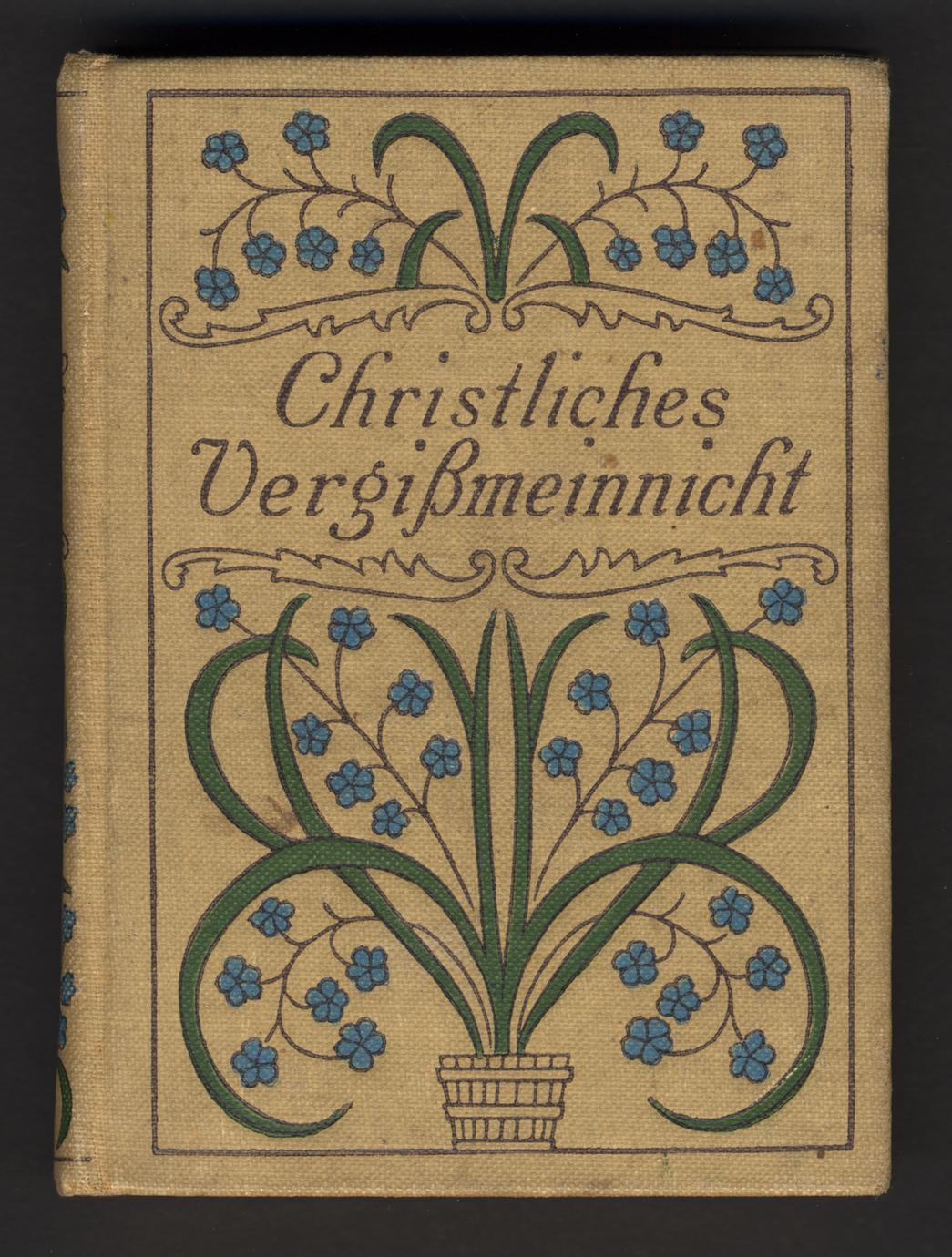 Christliches Vergissmeinnicht (1 of 2)