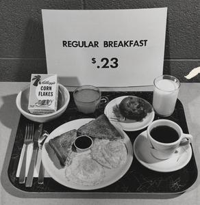 Regular breakfast