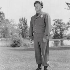 Warden Winnie in uniform