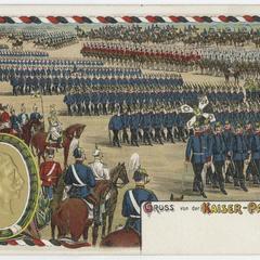 Gruss von der Kaiser-Parade