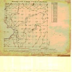 [Public Land Survey System map: Wisconsin Township 06 North, Range 11 East]