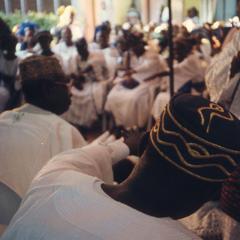 Ifaturoti wedding crowd
