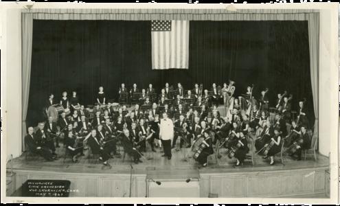 Milwaukee Civic Orchestra (1963)