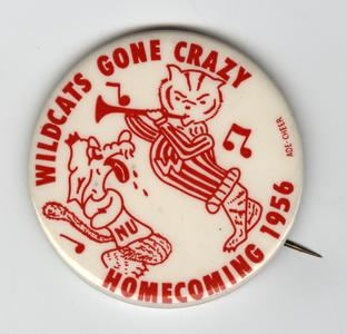 Homecoming pin, 1956