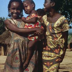Portrait of Village Children