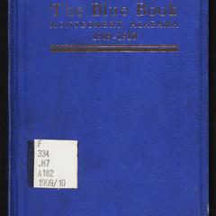 The bue book, Montgomery, Ala.