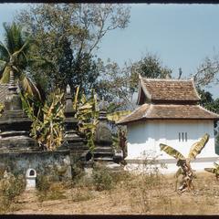 Vat Xieng Thong--stupa