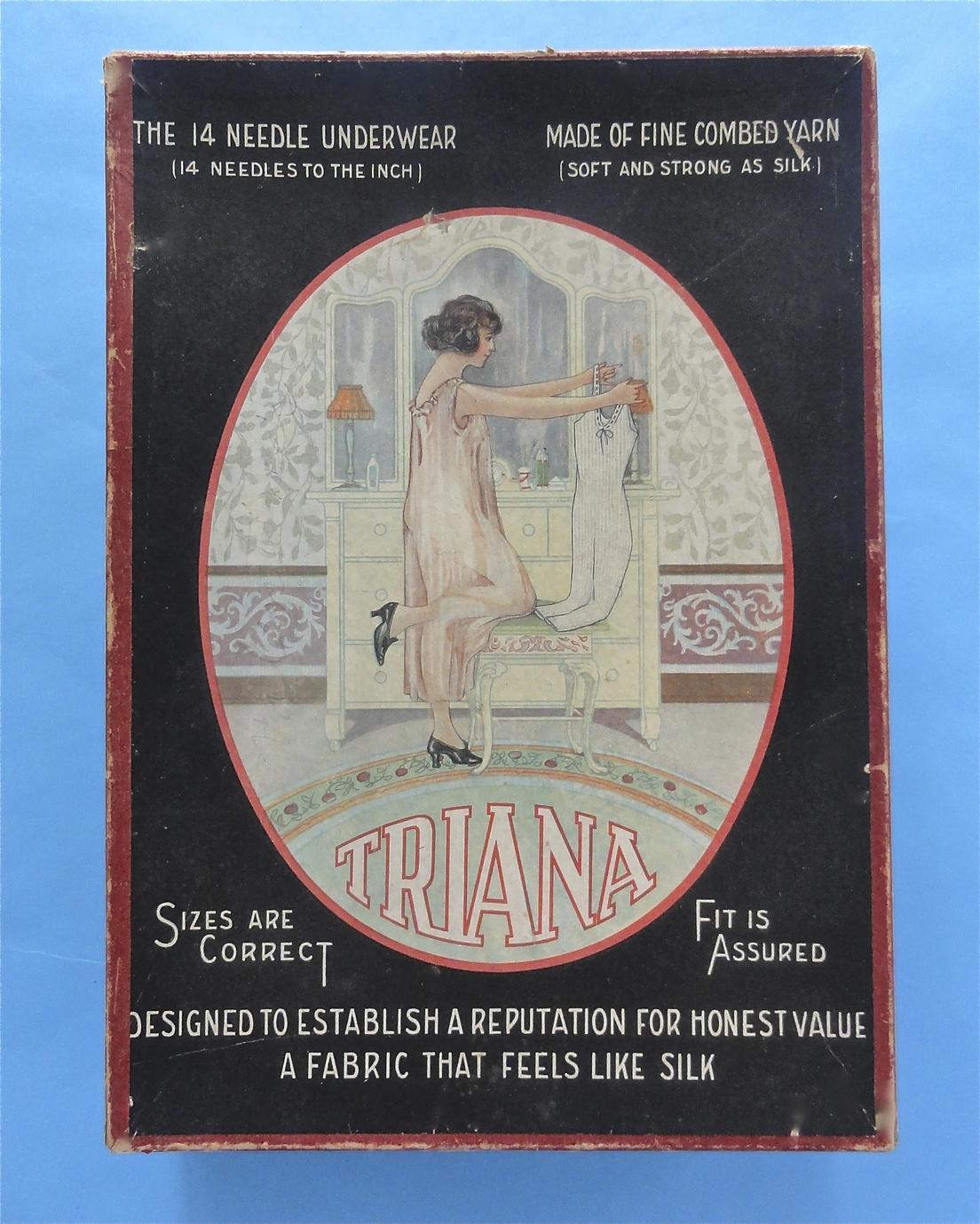 Triana union suits lingerie box