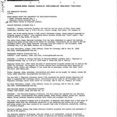 Aldo Leopold : biographical materials 1948-1959
