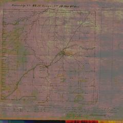 [Public Land Survey System map: Wisconsin Township 47 North, Range 14 West]