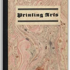The printing arts : selected from a detailed description of all guilds