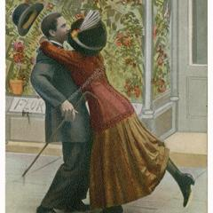 Stumping for votes, suffrage postcard