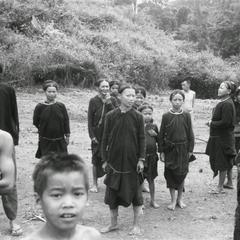 Lanten villagers in Houa Khong Province