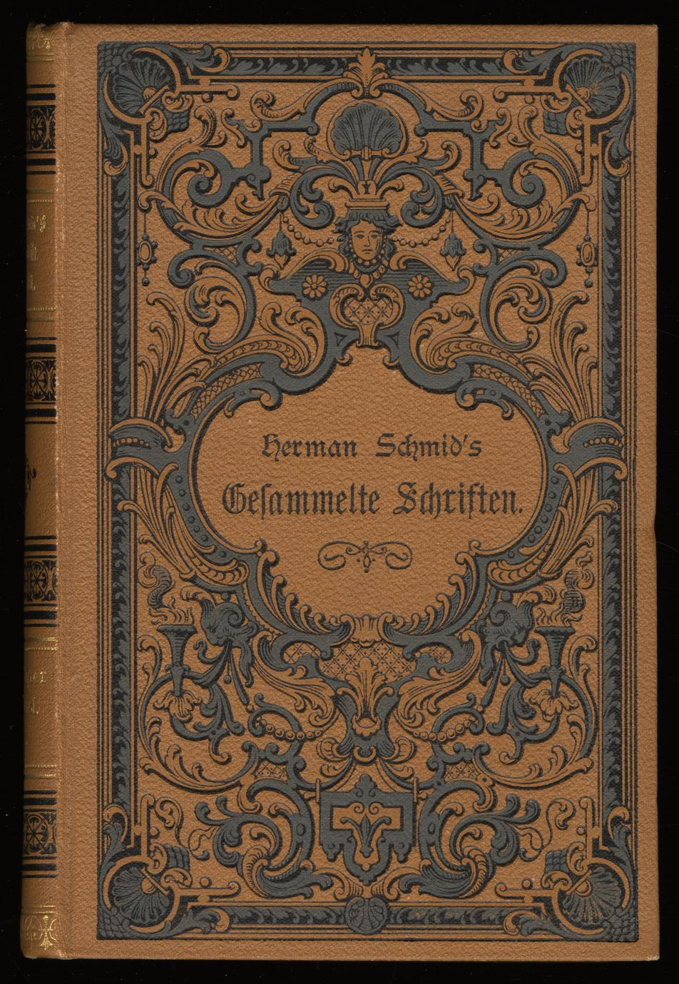 Herman Schmid's gesammelte Schriften; v. 3-4 (1 of 3)