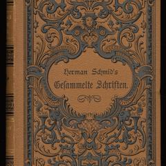 Herman Schmid's gesammelte Schriften; v. 3-4