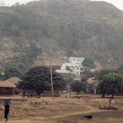Nike's house near hill