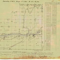 [Public Land Survey System map: Wisconsin Township 23 North, Range 07 East]